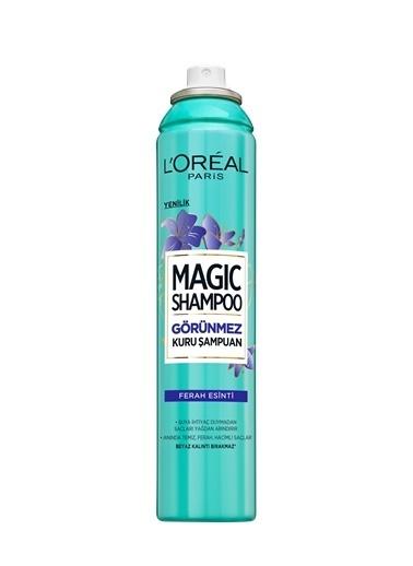 L'Oréal Paris Magic Shampoo Görünmez Kuru Şampuan 200Ml -Ferah Esinti Renksiz